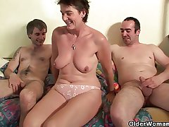 Mom has always customer acceptance wanted a threesome with boys