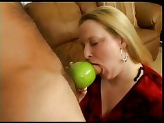 Granny Smith Apple Blowjob