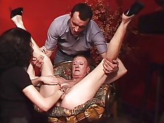 Obese pierced granny MILG fisted and fucked unending