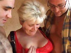 blonde granny flimsy