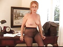 Soft Bossy Granny in Pantyhose