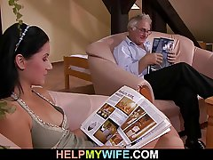 Cuckolding surprise be fitting of morose wife