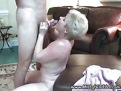 Amateur granny facial school flan She wants more