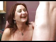 Lovely Grown-up Milf Seduces Young Man