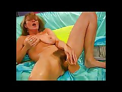 Gung-ho Soft Milf beside Will not hear of dildo BVR