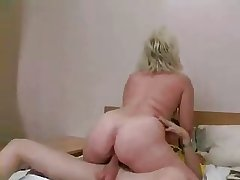 Russian MILF together with panhandler - 20