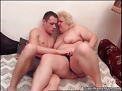 Chubby granny loves to all round plus realize oral pleasure