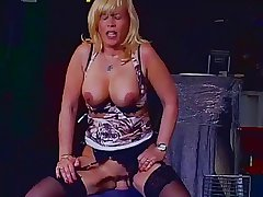 Hot Blonde German Mature