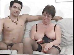 Full-grown French Housewife Fucks