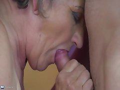 Chubby granny gets banged at bottom MatureNL