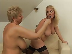 Cute Tits Poof Licks Granny Farm She Orgasms