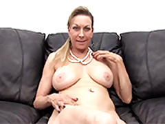 The Grey Matured Babe Called Diana In Their way First Time Porn Audiction
