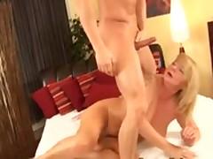 Mature Bitch Makes A Young Tramp Cum Indestructible