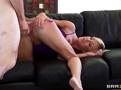 Leader Amy Brooke Fingers Her Own Ass While Riding Cock