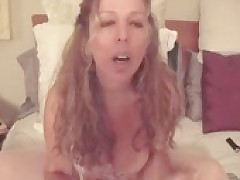 Masturbating Busty Mature Woman