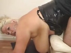 Chubby Mature Fucked In Stockings