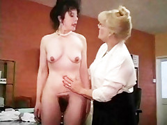 Prudish Pussy Mature Sluts Frying In The Office