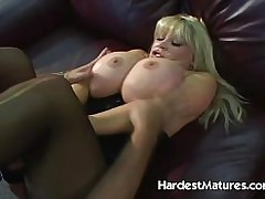 Big Tits Blonde Grown up HARD Fucked