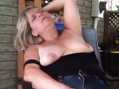 Fat Mature Woman Playing With Will not hear of Pussy