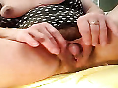 Pumping Up A Clitoris Of My Grown up Wife To Film It On Cam