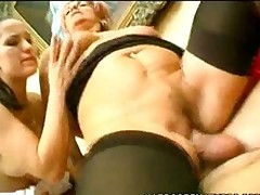 Hot Mature Rides Like Slay rub elbows with Cowgirl