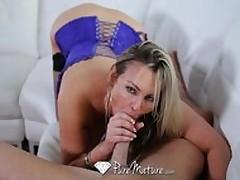 HD PureMature – Busty Milf Abbey Brooks Licks Ice Cream And Tastes Cock