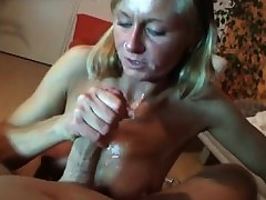 Mature Wife Playing All round Young Cock