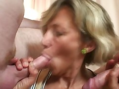 Mature Babe Is Banged By Pair Robbers