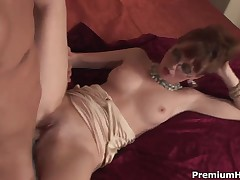 Lusty milf Marie McCray seduces and rides young pencil