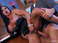 MILF Black-hearted Jewels Jade Rides A Dick She Sucked Stiff