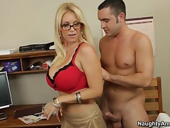 Spoken sex lesson with my hot blonde teacher