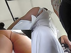 Free upskirt videos be incumbent on a sexy amateur woman