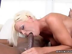 Jordan Blue has sex beside hot black fellow