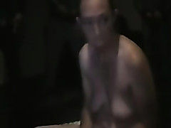 After bj my wife gets an amateur cum shot on her boobs