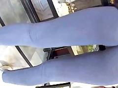 Underwear invisible in a Leggings
