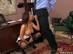 Hot Amy Ried makes Ramon prove themselves in the place