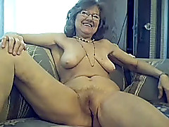 64 y.o. fetching sexy granny with long hair