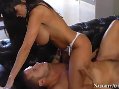 Ava Addams pleasures young stud Danny Mountain