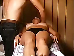 Mulatto plus hot wife be fitting of mine acquires an amazing erotic massage apart from some perv