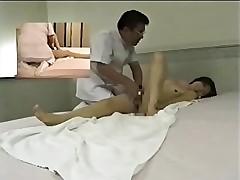 Japanese massage room - hidden cam