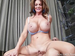 Deauxma and Derrick Perforate in great milf fuck