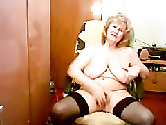 broke in web cam of my pervert old mum. Watch the bitch