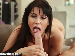 Eva Karera blows unending dick like a pro!