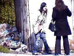 Girls Pissing voyeur dusting 247