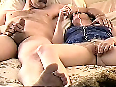 My lustful spliced loves playing with say no to vibrating sex toy