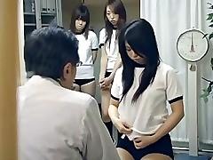 Japanese schoolgirl (21+) medical check-up
