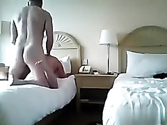 fucking a excited brunette hair doggy whilst that babe talks have a weakness for a doxy