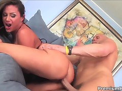 Brunette Sky Taylor has amazing sexual occurrence