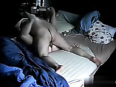 Voyeur amateur porn video shows a full-grown slattern fucking