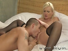 MOM Blonde MILF's with the addition of their lovers